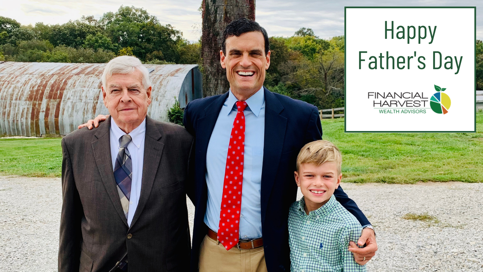 Happy father's day from financial harvest