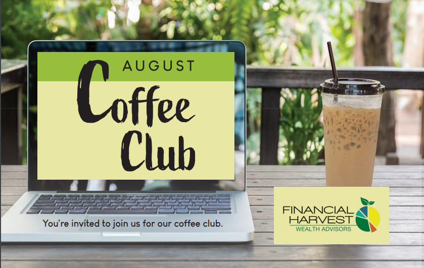 August coffee club: in-person event